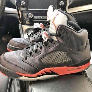 Jordan 5 Retro Satin Red/Black